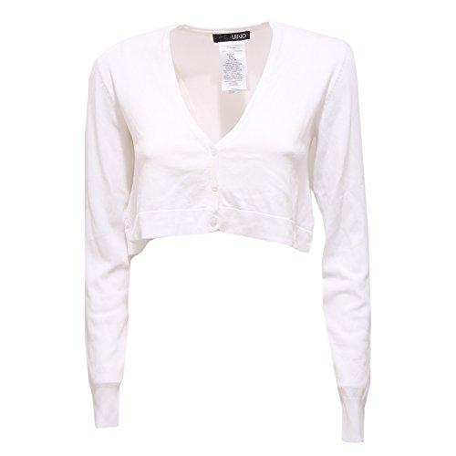 85571 cardigan coprispalle LIU JO VISCOSA maglia maglione donna sweater women [42]