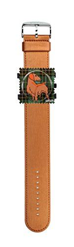 S.T.A.M.P.S. Stamps Uhr komplett - Zifferblatt Scotch Dog mit Armband Satin kupfer