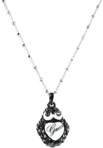 Guess UBN12021 - Collar de mujer de plata de ley, 46 cm