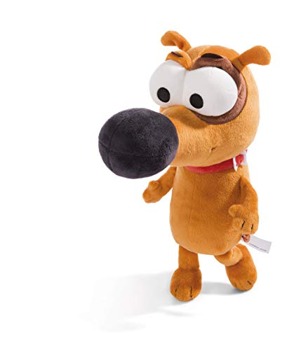 Nici 44237 Kuscheltier Hund Pat 30cm, braun