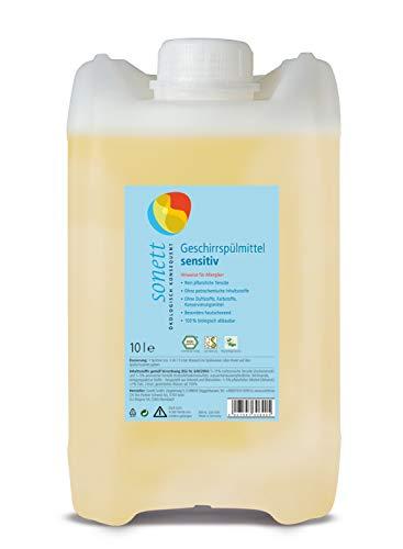 Konzentrierte Geschirrspülmittel (Geschirrspülmittel sensitiv: Ohne Duftstoffe, Farbstoffe, Konservierungsmittel)