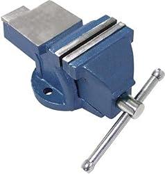 Schraubstock 150 mm Backenbreite für Werkbank mit Amboss, 11 kg