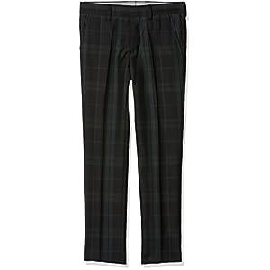 Tommy Hilfiger Thkb Holiday Mik Blackwatch Pant Pantalones para Niños