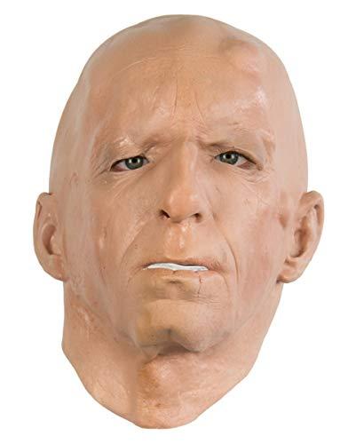 Mönch Maske aus Schaumlatex für Fasching & Halloween