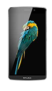 TP-Link Neffos C5 Max 4G LTE Smartphone (13,97 cm (5,5 Zoll) Display, 16 GB Speicher, Octa-Core Android 5.1) dunkelgrau