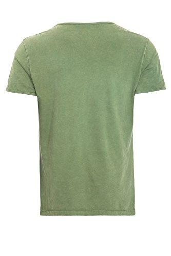King Kerosin Herren T-Shirt Grün
