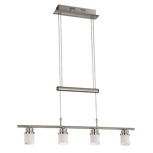 14,4 Watt LED Zug Pendel Lampe Esszimmer Hänge Glas Leuchte verstellbar Action 50035