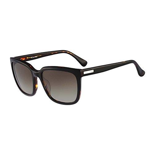 Calvin Klein Sonnenbrille 4253S-320 (55 mm) schwarz/havanna