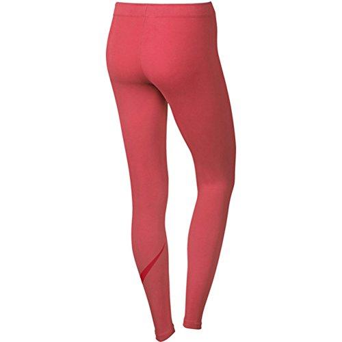Nike Damen Club Logo Leggings (Hose), Damen Orange (Ember Glow / University Red)