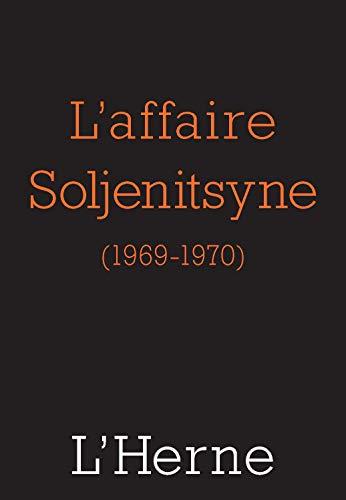 L'affaire Soljenitsyne par  Collectif