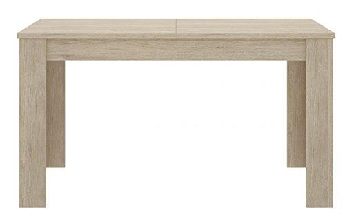 PEGANE Table à Manger Extensible Coloris Naturel - Dim : 90 x 78 x 140-190 cm