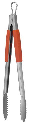Mr. Bar-B-Q 02802X Easy Grip Edelstahl Zange