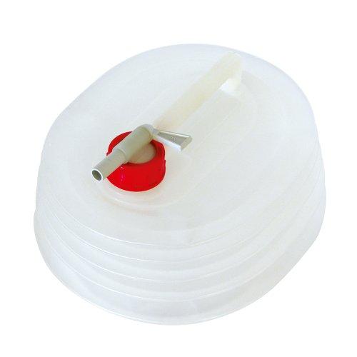Carpoint 0110032 Wasserkanister faltbar 5 L mit Hahn