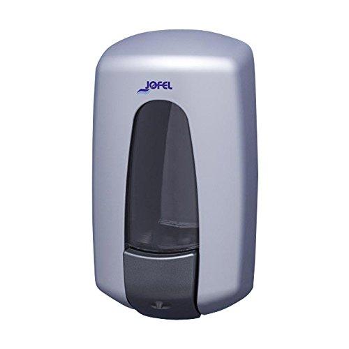 Jofel AC72000 Aitana Seifenspender, wiederbefüllbar, metallfarben, 0,9L