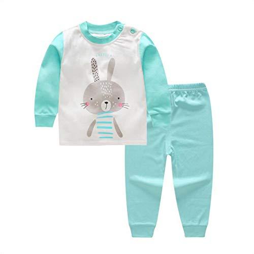 1d8825e24a0f9 BenCreative Enfant Vêtement de Nuit Pyjama Coton Set à Manches Longues  Cartoon Impression Chaud Hauts Pantalons