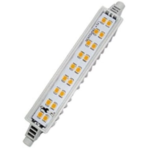 Bombilla LED Slim R7s 118mm 7W Luz blanca 4000K Ref. 216-4-420