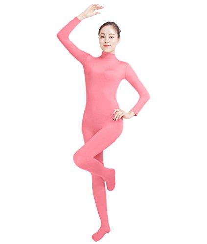 NiSeng Erwachsener und Kind Ganzkörperanzug Anzug Kostüm Ganzkörperanzug Halloween Kostüme Rosa ()