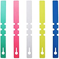 Boocy 250pcs 2*21cm Plastique Branche étanche étiquettes marqueurs Plante Chambre d'enfant Jardin Arbre à suspendre balises