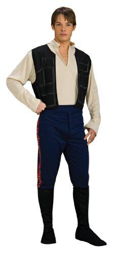 Wars Han Solo Kostüm Style 1, XL, Brust 111,8–116,8cm Taille 91,4–101,6cm Hosenlänge 83,8cm (Darth Vader Kostüme Für Frauen)