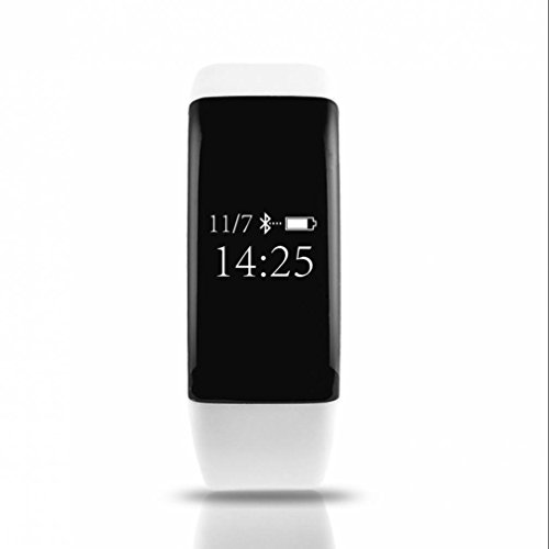 Fitness Armbänder mit Pulsmesser,Smart Fitness Tracker mit Aktivitätstracker, Schrittzähler, Kalorienzähler, Schlaf-Monitor,Low Power Consumption herzfrequenz monitor stoppuhr für iOS und Android Handys