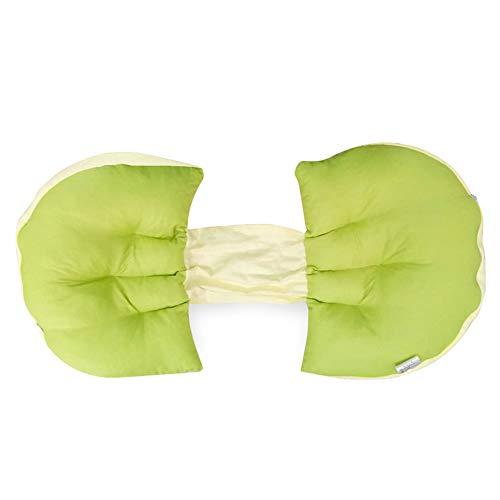 Jumbo-körper-kissen (Schwangere Frauen Körper Sleeping Support Kissen, Ovale Form Für Schwangere Frauen Körper Komfort Schwangerschaft Kissen Mutterschaft Bauch Konturierte Körper Bein Keil Kissen,Fruitgreen,60*36*12Cm)