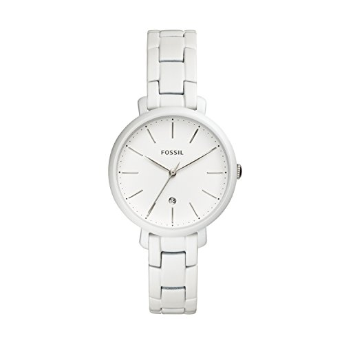 Fossil Damen Analog Quarz Smart Watch Armbanduhr mit Edelstahl Armband ES4397
