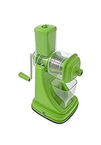 RB Kitchen Combo of 3-Manual Juicer With Steel Handle, 6 In 1 Multi-Purpose Slicer & 2 In 1 Multi Veg Cutter with Peeler (Green)