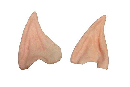 Da.Wa Ein Paar Simulation Elf Ohren aus Latex für Erwachsene Cosplay Halloween (Stil B)