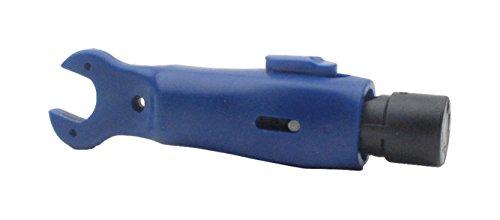 Cabelcon Koax-Abisolierer, RG6/59, mit 11er Sechskant-Schlüssel - Hex-crimp-f-stecker
