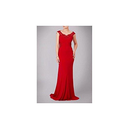Mascara -  Vestito  - fasciante - Senza maniche  - Donna Red