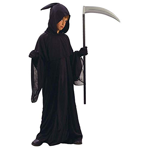Kostüm Kinder Reaper Jungen Grim - Grim Reaper Jungen Halloween / Karnival Kostüm Größe XL 11-13 Jahr (EU 146-158cm)