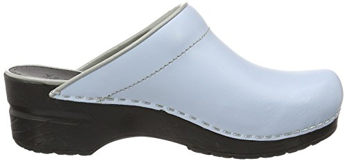 Sanita Damen Isel Open Clogs Blau (Sky)