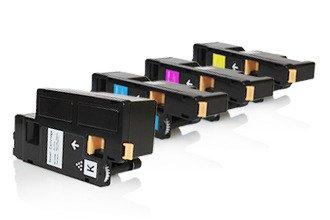 Preisvergleich Produktbild PerfectPrint Kompatibel Toner Patrone Ersetzen für Dell C1660 C1660W C1660DW C1660CN (Schwarz/Cyan/Magenta/Gelb, 4-pack)