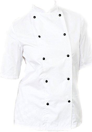 ng Jock Uniform Leichtgewicht Kurzärmelig Chefswear Jacke - XXL (Jock Jacke)