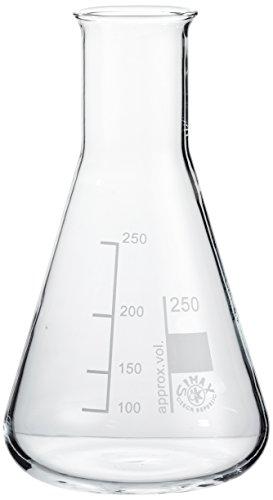 neoLab E-1060 Erlenmeyer-Kolben Enghals, 250 mL (10-er Pack) (250-ml-pack)