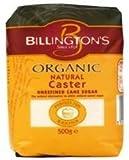Billingtons Org Golden Caster Sugar 500g by Billingtons