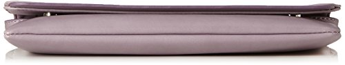 ESPRIT Damen 117ea1o047 Clutch, 2x15x28 cm Violett (Dark Mauve)