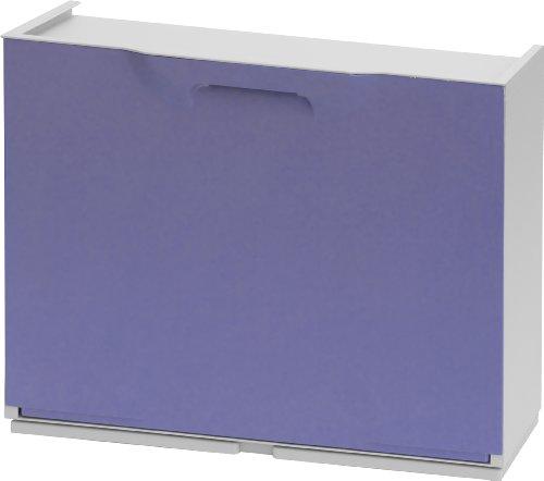 Art plast u50/1l scarpiera in plastica, lilla/bianco