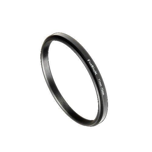 Fotodiox Step Down Ring, Metall, eloxiert, Schwarz, Keine, schwarz, 77-72mm 72mm Step-down Ring