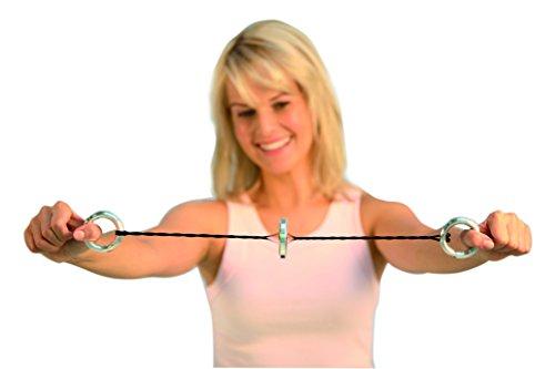 Handytrim® Rotationsexpander – Heimtrainer und Mini Fitnessgerät für zuhause und unterwegs inklusive Trainings-DVD - 3