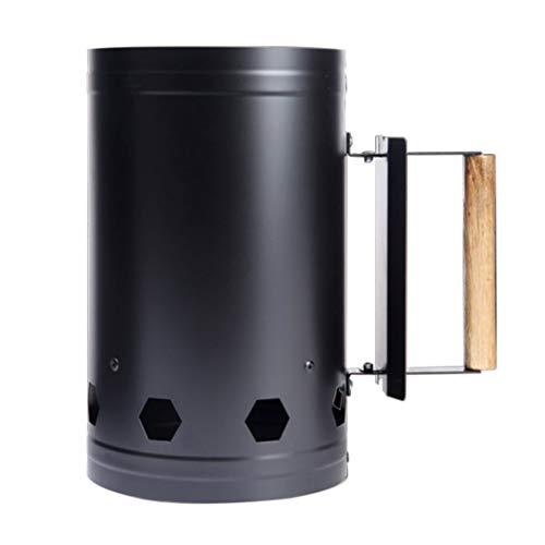 Tragbare Outdoor Camping Picknick Holzofen Brennholz Holzkohle Feuerzeug Kohle Starter BBQ Grill Barrel Schnellen Feuer Herd