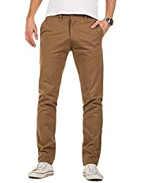 Yazubi Herren Chino Hose - Modell Kyle slim fit - Chinohose Casual mit  Stretch 9ee3172a71