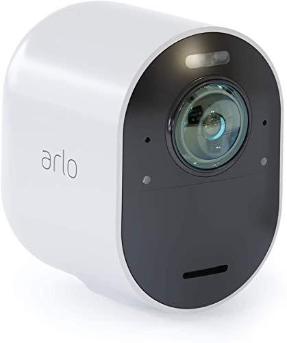 Oferta de Arlo Ultra 4K - Cámara adicional Smart (recargable, libre de cables con visión diurna/nocturna, funciona con Amazon Alexa), necesita Smarthub