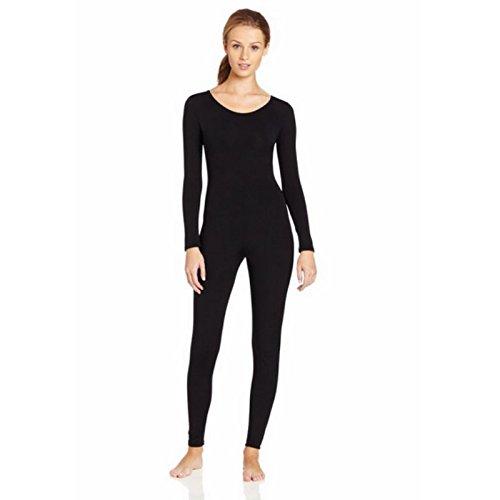 Prettyia Funsuit Ganzkörperanzug Anzug Suit Ganzkörper Anzug Fasching Karneval Kostüm für Damen Mädchen - Schwarz, xl