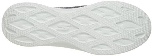 Skechers Go Step Lite, Formateurs Femme Bleu (Navy White)