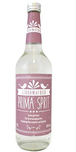 Likörmacher Primasprit/Weingeist/Ethanol/Ansatzspirituose Alkohol 69% vol. (1 x 0.7 l)