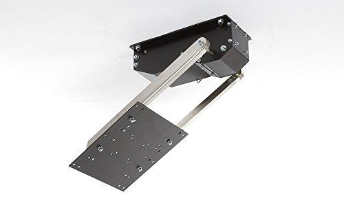 flasy TV Lift pushMINI - TV Deckenhalterung Elektrisch klappbar, schwenkbar - bis 55 Zoll Oder 22,5 Kg - VESA bis 300x300