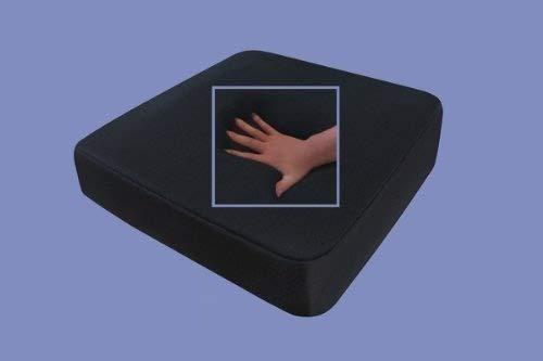 supply24, Cuscino per Seduta con Gel, antidecubito, 40 x 40 x 10 cm