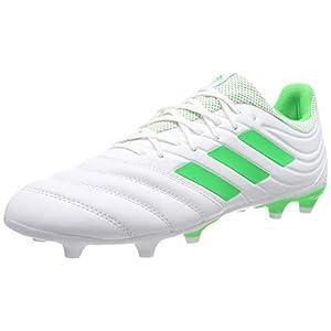 adidas Copa 19.3 FG, Zapatillas de Fútbol para Hombre, Blanco (FTWR White/Solar Lime/FTWR White FTWR White/Solar Lime/FTWR White), 44 2/3 EU