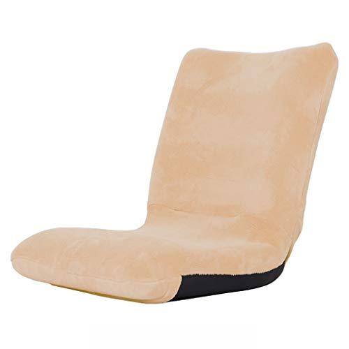 Defeng Einzelbett auf Mini-Stuhl Faules kleines Sofa (Color : BEIGE, Size : 41 * 38 * 47CM)